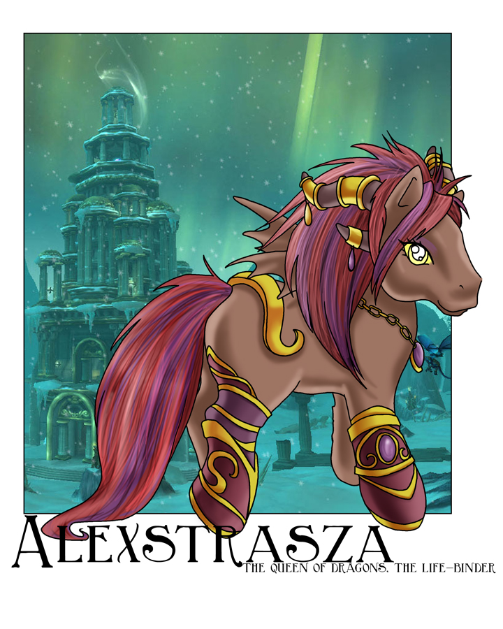 Alexstrasza - My Little Pony by amypeterson