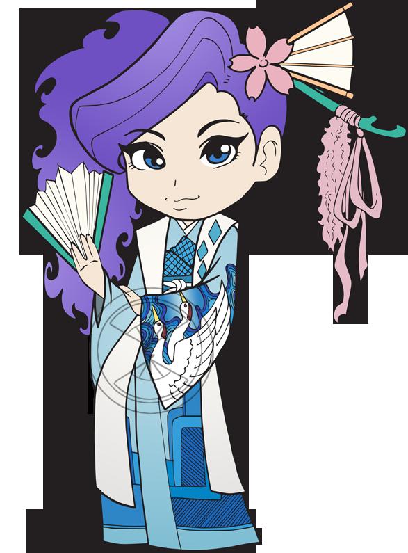 Chibi Mezushika by amypeterson