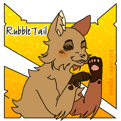 RubbleTail !Art trade!