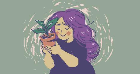 flower mom by Frinia