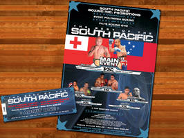 Boxing Event Advertising