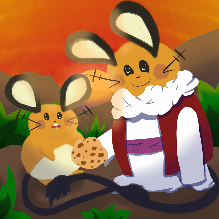 If Dende Dedenne gives Dedenne a Cookie. by sayarules
