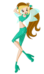 Monique MT winx club style