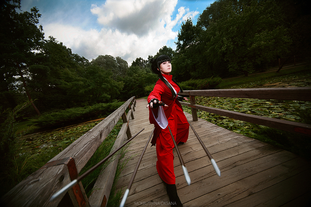 Dangerous arrows. Avatar: The last Airbender Mai by TheWisperia