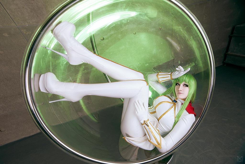 [Code Geass R 2 C.C. cosplay ]
