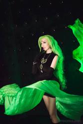 Sailor Moon R Black Moon Green Esmeraude