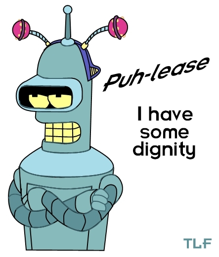 Bender with dignity by Tastes-Like-Fry