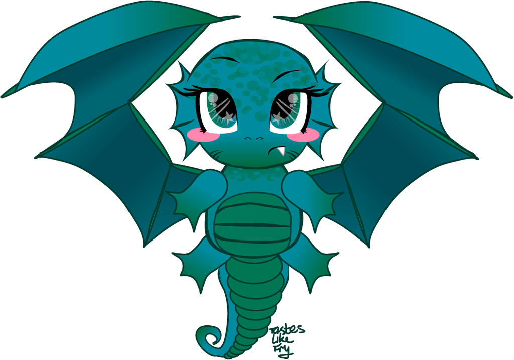 Little Water Dragon by Tastes-Like-Fry