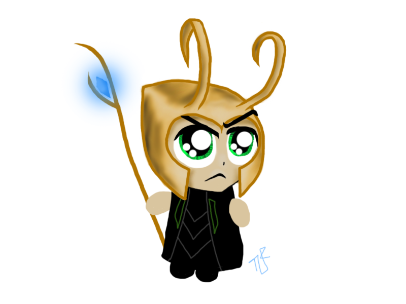 Chibi Loki by Tastes-Like-Fry