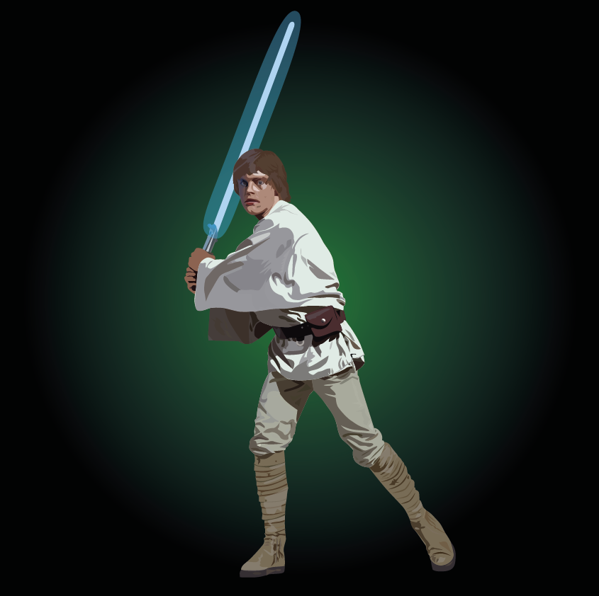 Luke Skywalker by Tastes-Like-Fry