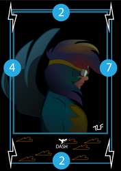 Rainbow Playing Card by Tastes-Like-Fry
