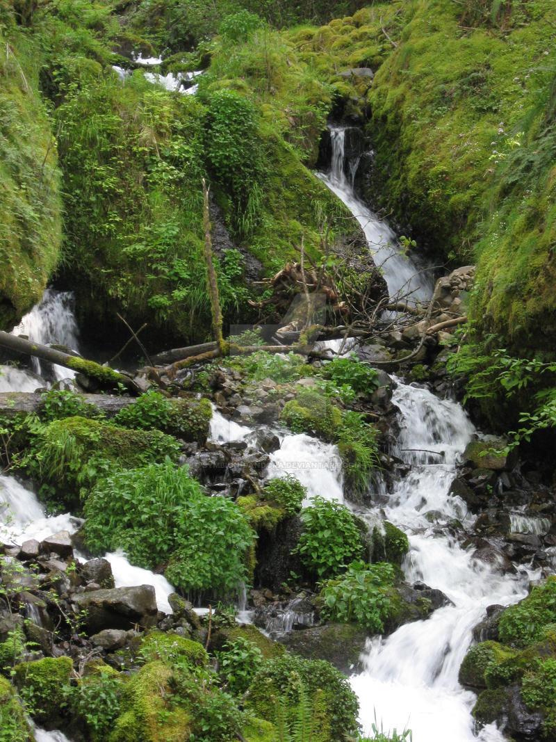 Wahkeena falls by symbion-pandora