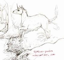 Eocornus sketch by symbion-pandora