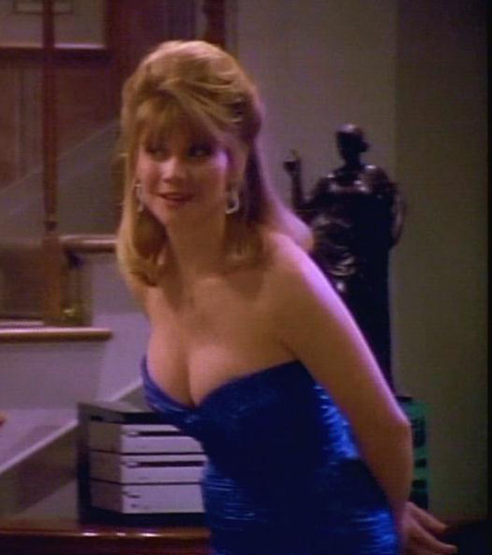 Markie post when she was young