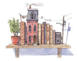 Book Shelf House