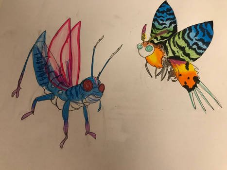 Our own insect encounter parts