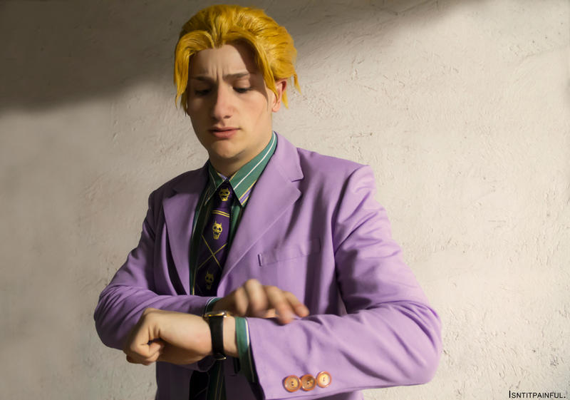 Jojo Yoshikage Kira Bites The Dust With Another Bites The Dust Playing