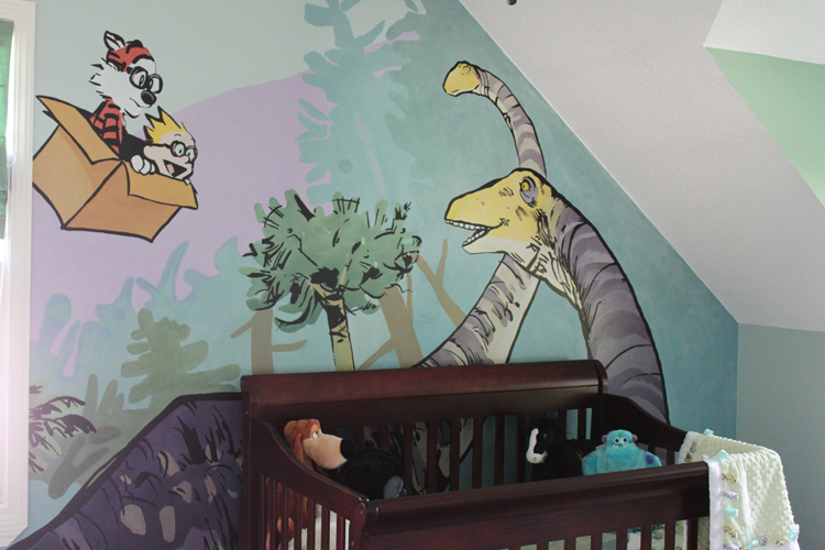 Calvin and Hobbes Mural 2 by Knealdo on DeviantArt