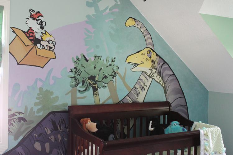 Calvin And Hobbes Mural 2 By Knealdo On Deviantart
