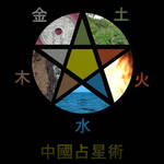 Pentacle Chinese elements