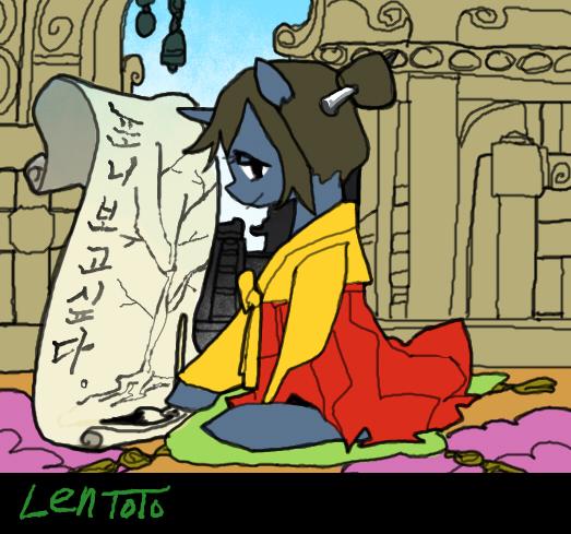 Oriental Pony by LenToTo