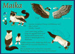 Maika reference sheet