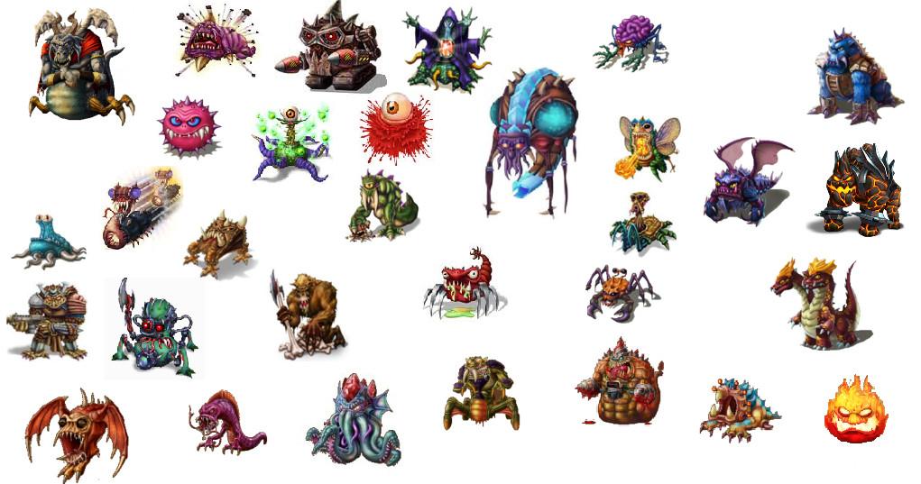 Monsters Of Backyard Monsters By Wario97 ...