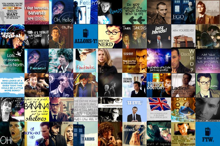 It's a Doctor Who Desktop by Greeneyesstaring