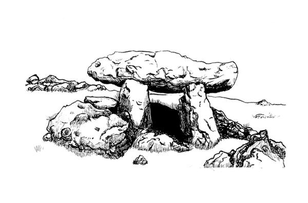 Dolmen by gioveart