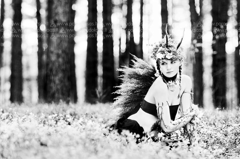 Forest goddess III by amisiux