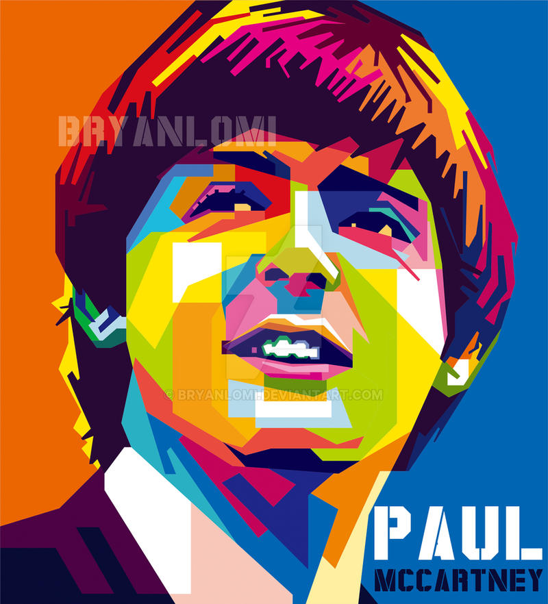 PAUL McCARTNEY By Bryanlomi