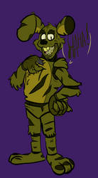 Toony springtrap with some fluff.