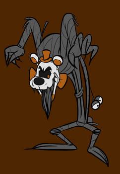 Cartoon Molten Freddy
