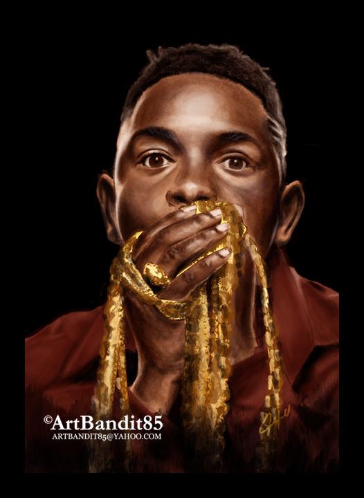 Kendrick Lamar by futuristicstyle