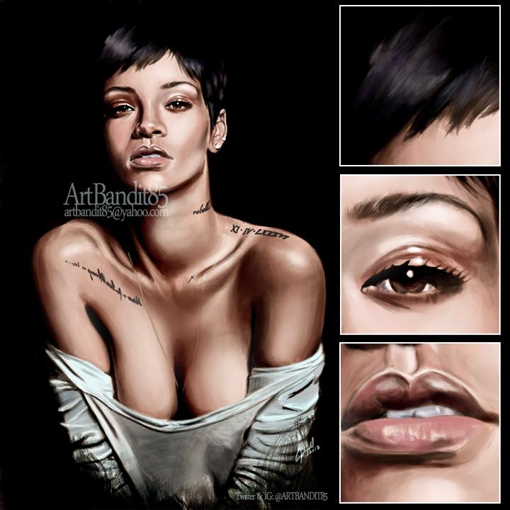 Rihanna by futuristicstyle