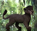 Needle Felted Lion Antares