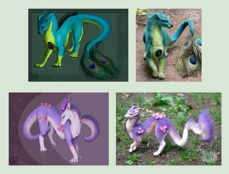 My fantasy dragons