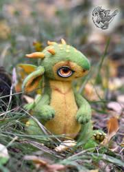 Fantasy baby dragon.
