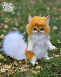 Fluffy fantasy pet