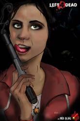 A Girl with a Gun... by redslug