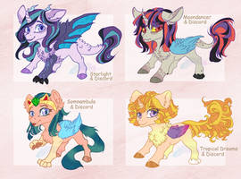 [ADOPT] Discord Kiddos |CLOSED by CastASpellLiana