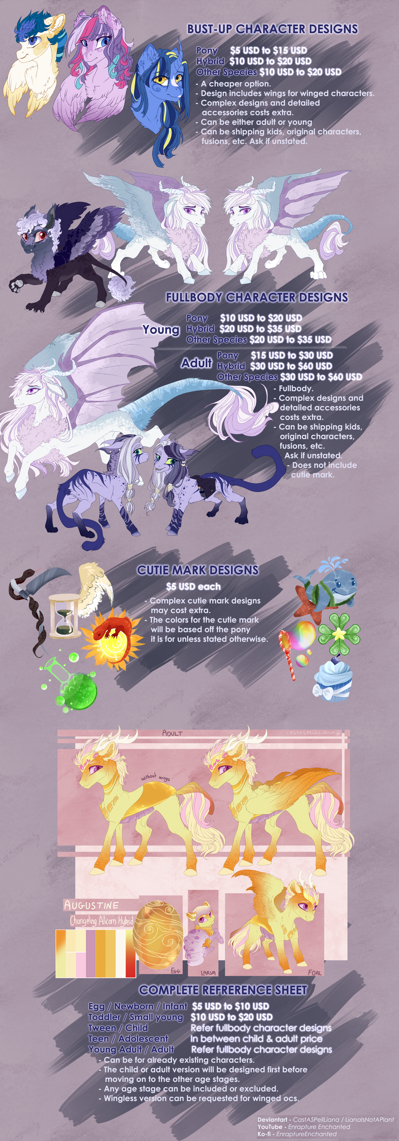 Custom Design Commission Price Guide [[CLOSED]]