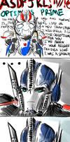 Transformers Prime - Smokescreen the fanboy
