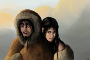 Ice Age Love by Djinna