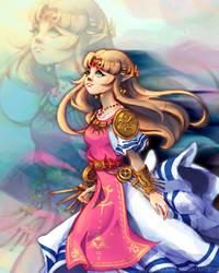 Zelda by BlubberBunny