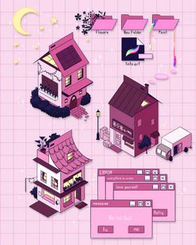 Pink Carton Homes