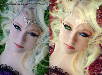 Before and After: Fairy Princess by moiFontaine