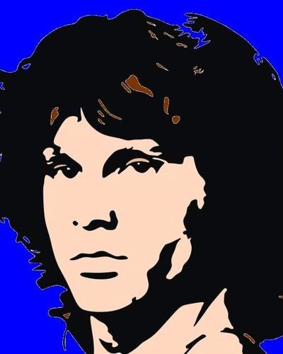 Jim Morrison Pop Art By Creative1978