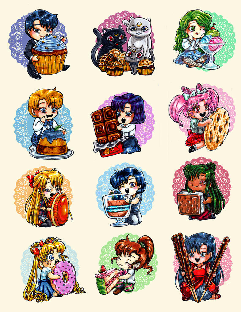 Sailor Moon Sweets by Mmystery