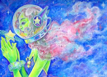 Spacealien by Mmystery